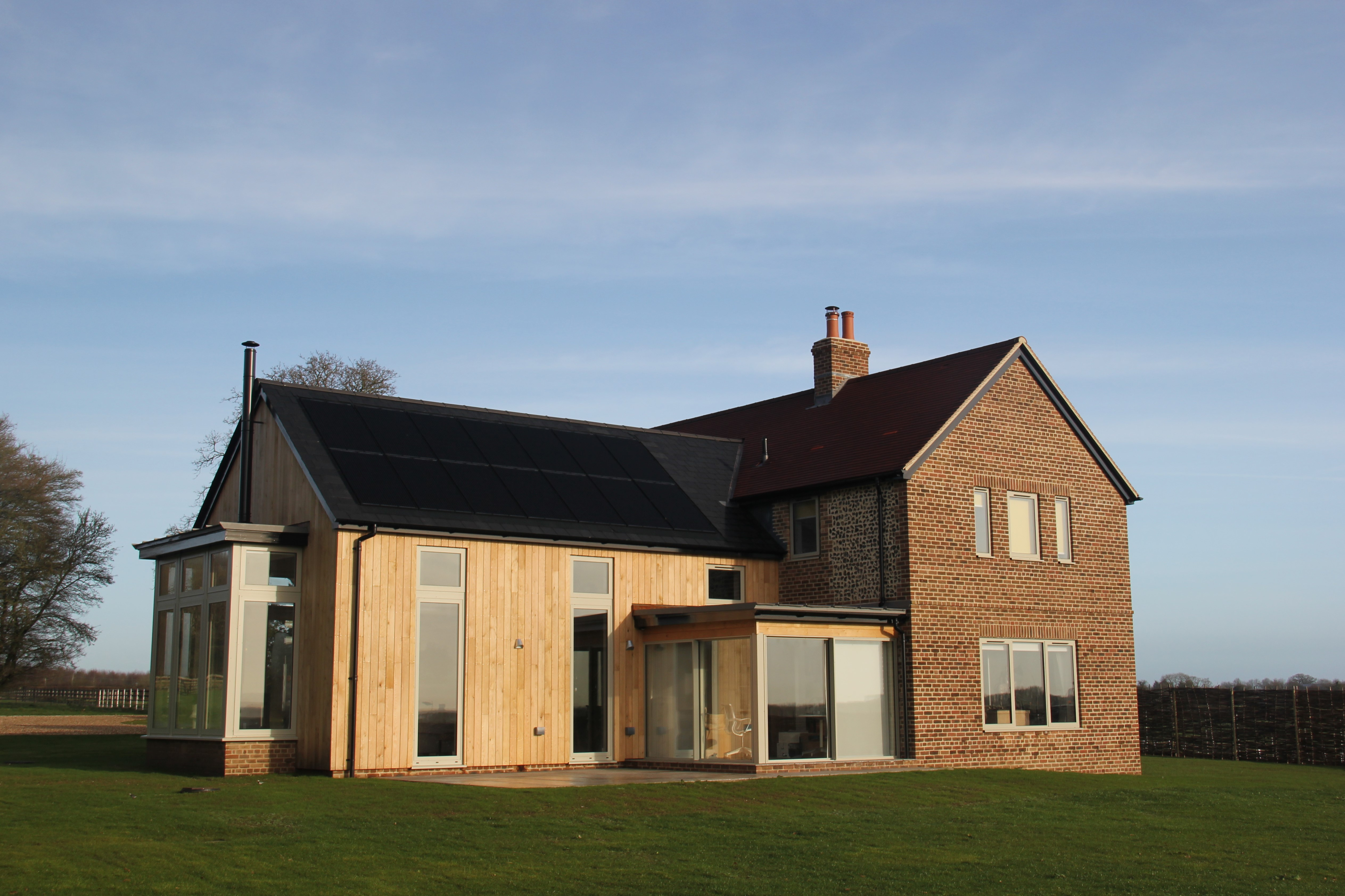 Replacement House, Manswood Commn, Dorset