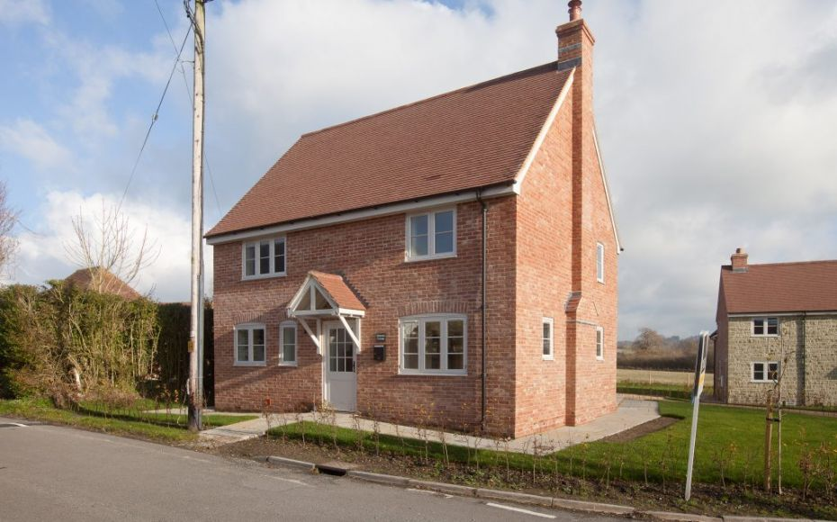 Pair of New Houses, East Knoyle, Wiltshire