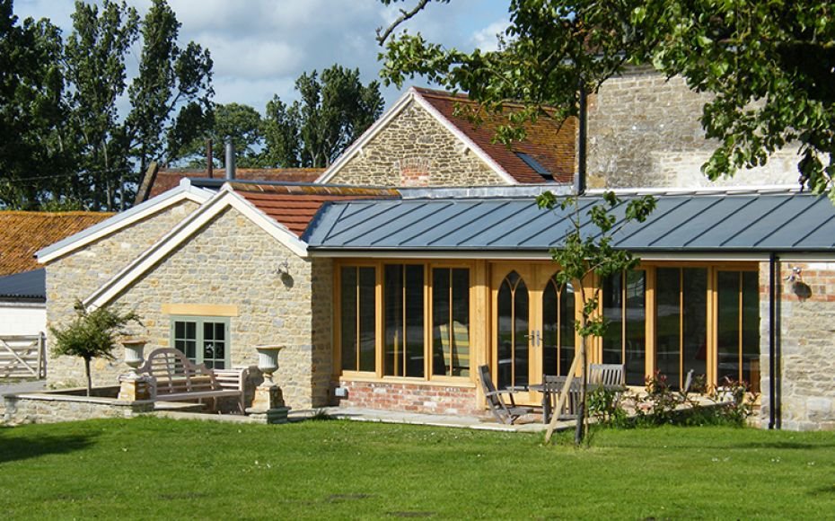 Barn Conversion & Extension, Glanvilles Wootton
