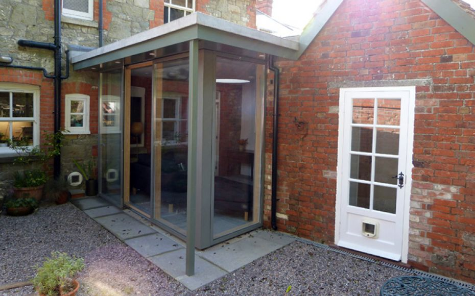 Garden Room Extension, Shaftesbury, Dorset